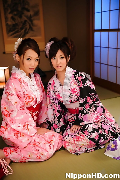 A breast of Japanese Geishas..