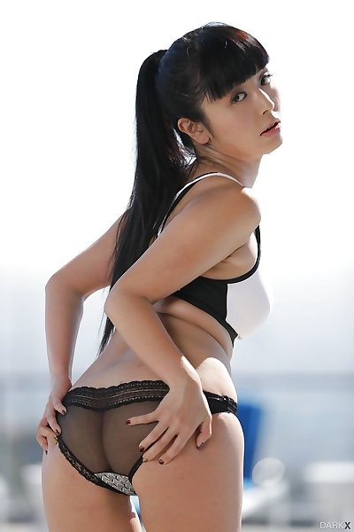 Sweet Asian chick Marica..
