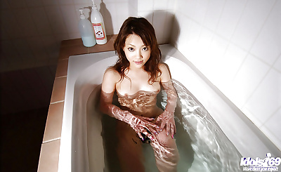 Rousing asian cutie with..