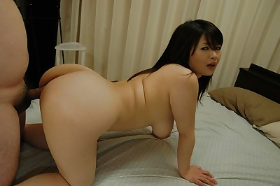 Lewd asian MILF with spot on..
