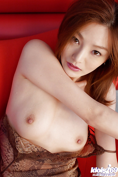 Naughty asian babe with..