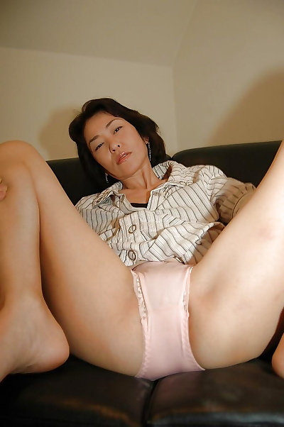 Naughty asian MILF takes..