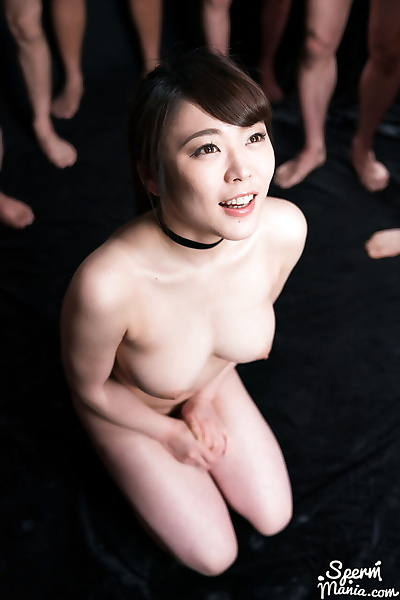 Japanese female is drenched..