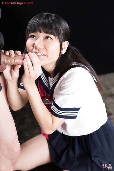 Cute Japanese schoolgirl..