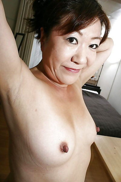 Vicious asian granny with..